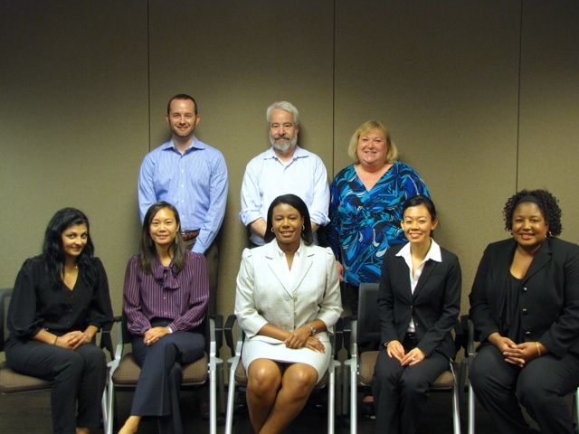 Officers of the Diversity Leadership Council with the new Diversity Fellows