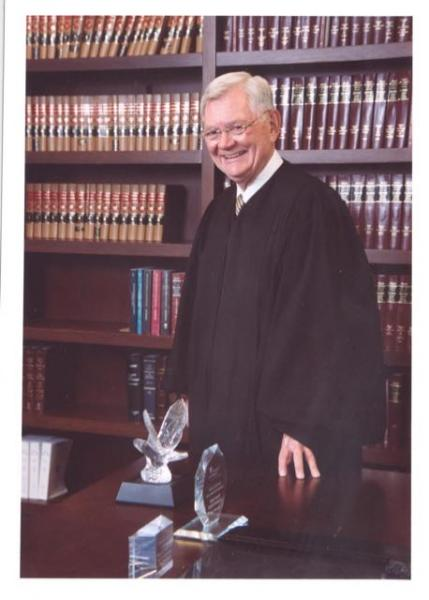 Former Illinois Supreme Court Chief Justice Thomas Fitzgerald