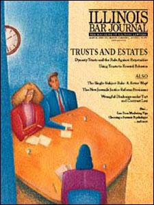 March 1999 Illinois Bar Journal Cover Image