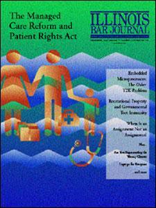 December 1999 Illinois Bar Journal Cover Image