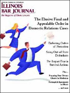 August 2000 Illinois Bar Journal Cover Image
