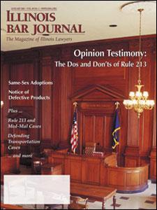 January 2001 Illinois Bar Journal Cover Image