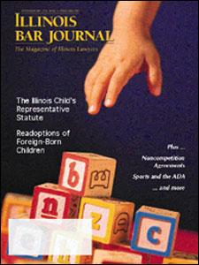 September 2001 Illinois Bar Journal Cover Image