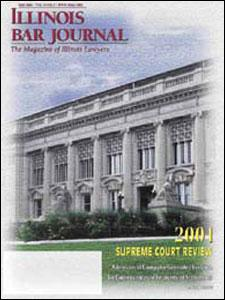 May 2002 Illinois Bar Journal Cover Image