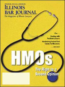 February 2003 Illinois Bar Journal Cover Image
