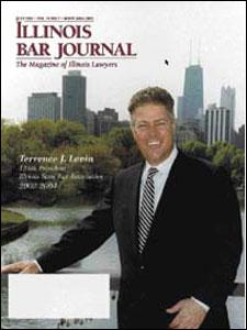 July 2003 Illinois Bar Journal Cover Image