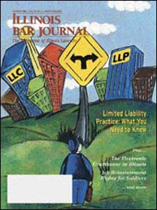August 2003 Illinois Bar Journal Cover Image
