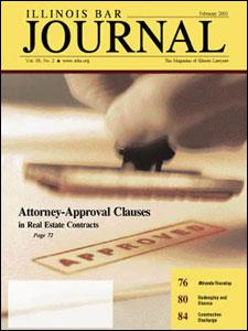 February 2005 Illinois Bar Journal Cover Image