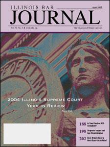 April 2005 Illinois Bar Journal Cover Image
