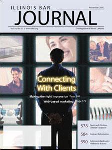 November 2005 Illinois Bar Journal Cover Image