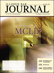 December 2005 Illinois Bar Journal Cover Image