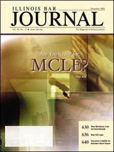 December 2005 Illinois Bar Journal Cover Image