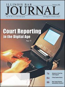 February 2006 Illinois Bar Journal Cover Image