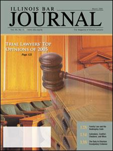 March 2006 Illinois Bar Journal Cover Image
