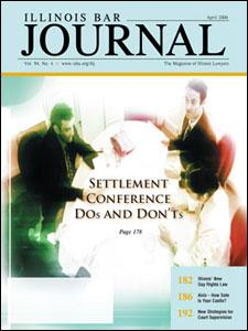 April 2006 Illinois Bar Journal Cover Image