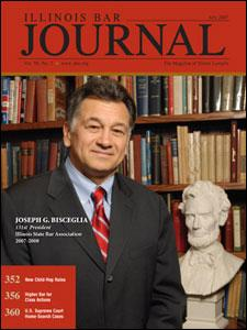 July 2007 Illinois Bar Journal Cover Image