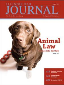August 2007 Illinois Bar Journal Cover Image