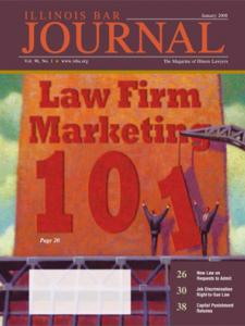 January 2008 Illinois Bar Journal Cover Image