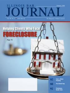 February 2008 Illinois Bar Journal Cover Image