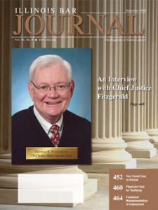 September 2008 Illinois Bar Journal Cover Image
