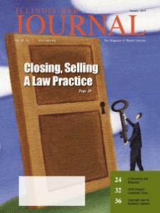 January 2009 Illinois Bar Journal Cover Image