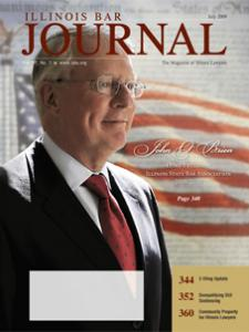 July 2009 Illinois Bar Journal Cover Image