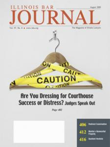 August 2009 Illinois Bar Journal Cover Image