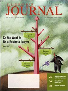 January 2010 Illinois Bar Journal Cover Image