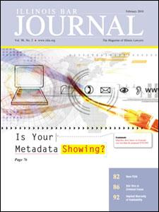 February 2010 Illinois Bar Journal Cover Image