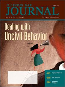 August 2010 Illinois Bar Journal Cover Image