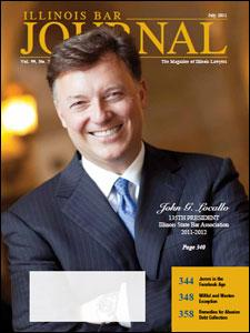 July 2011 Illinois Bar Journal Cover Image