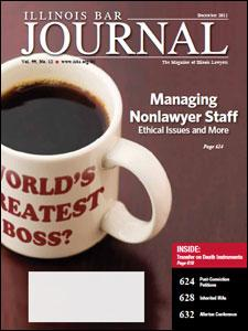 December 2011 Illinois Bar Journal Cover Image