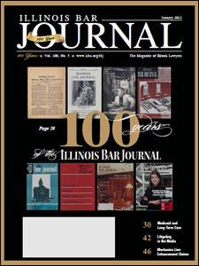 January 2012 Illinois Bar Journal Cover Image