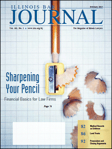 February 2013 Illinois Bar Journal Cover Image
