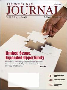 October 2013 Illinois Bar Journal Cover Image