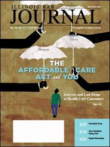 December 2013 Illinois Bar Journal Cover Image