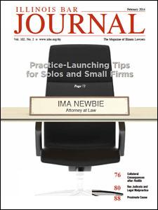 February 2014 Illinois Bar Journal Cover Image