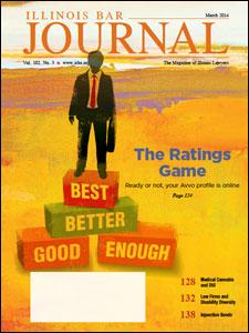 March 2014 Illinois Bar Journal Cover Image