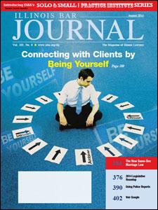 August 2014 Illinois Bar Journal Cover Image