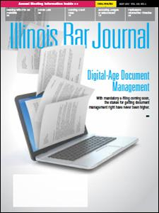 May 2017 Illinois Bar Journal Cover Image
