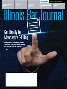 June 2017 Illinois Bar Journal Cover Image