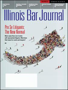 October 2017 Illinois Bar Journal Cover Image