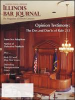 January 2001 Illinois Bar Journal Cover Image