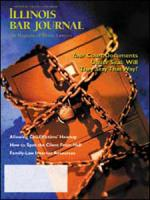 November 2001 Illinois Bar Journal Cover Image