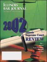 April 2003 Illinois Bar Journal Cover Image