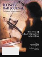 November 2003 Illinois Bar Journal Cover Image