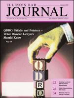 January 2005 Illinois Bar Journal Cover Image