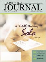 October 2005 Illinois Bar Journal Cover Image