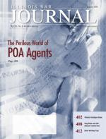 August 2008 Illinois Bar Journal Cover Image