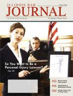 October 2008 Illinois Bar Journal Cover Image